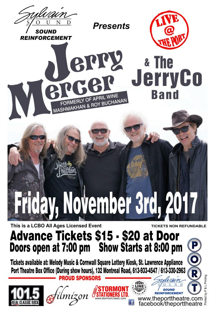 Jerry Mercer Poster