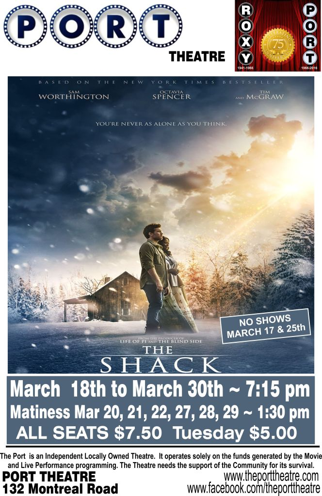 The shack poster Port