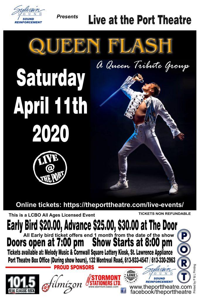 Queen Flash -2020 poster