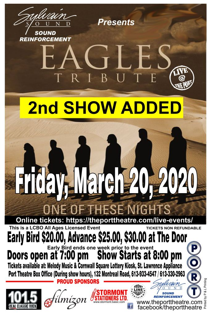 Eagles poster-20 2nd show