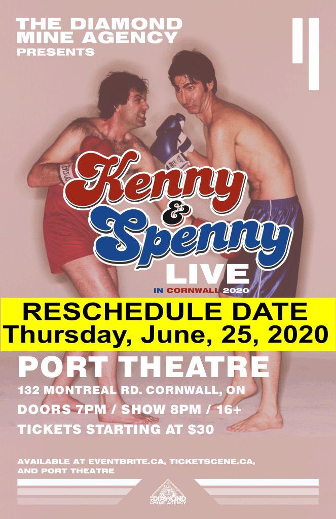 Kenny VS Spennynew date
