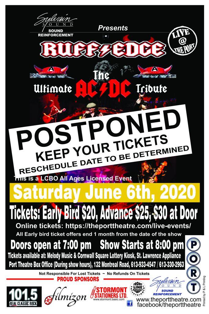 Ruff Edge poster-20 POSTPONED
