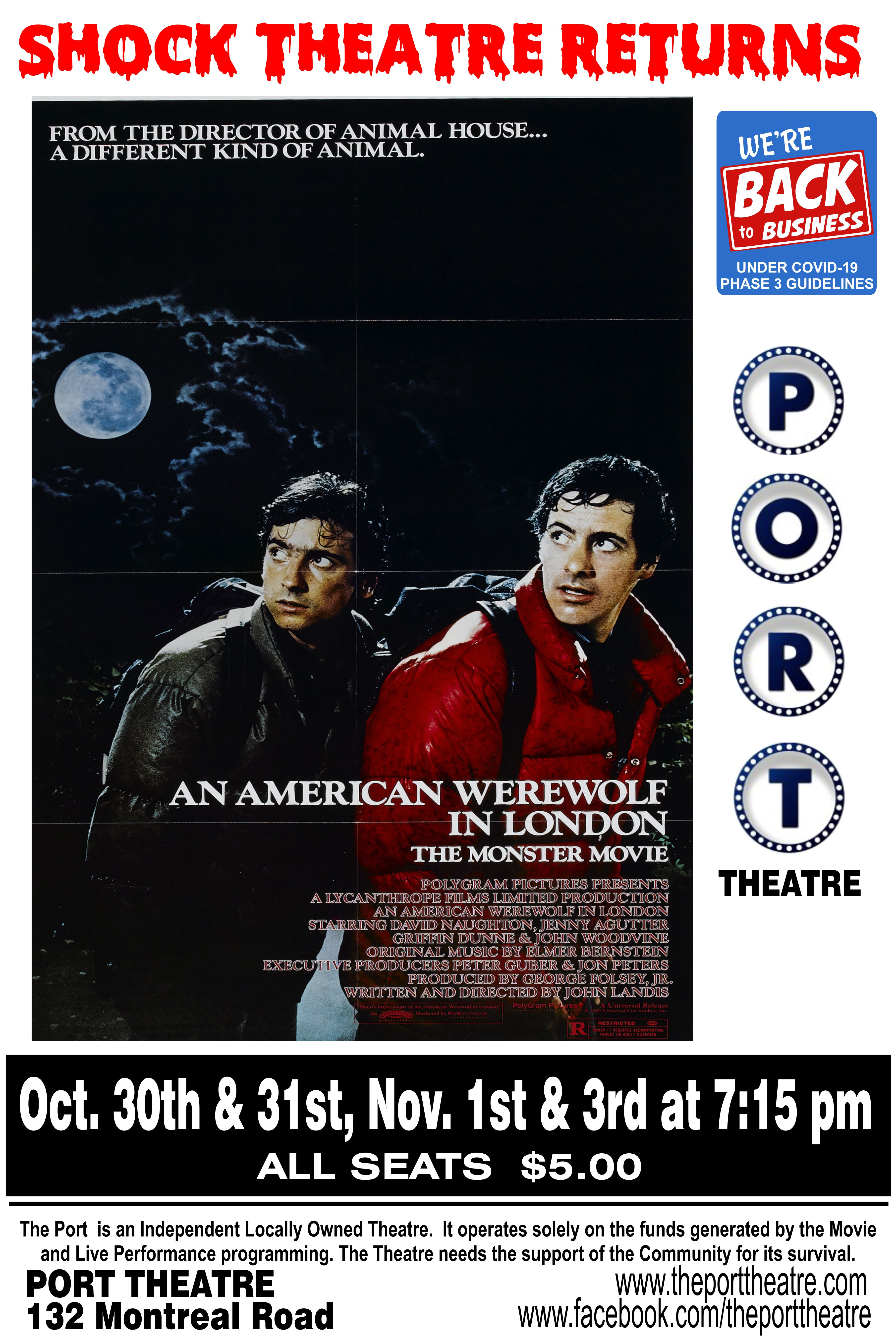 american Werewolf poster